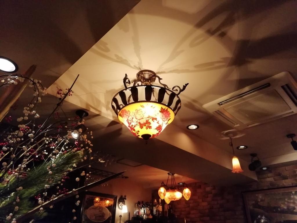 エミール・ガレのランプ。本物かどうかはさておき。(私もこういうの好き)