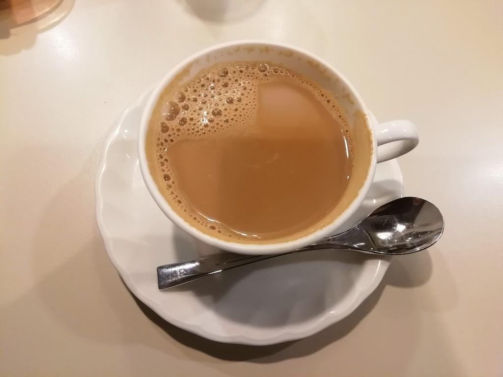 頼んだのは甘~い、黒蜜カフェオレ 710円