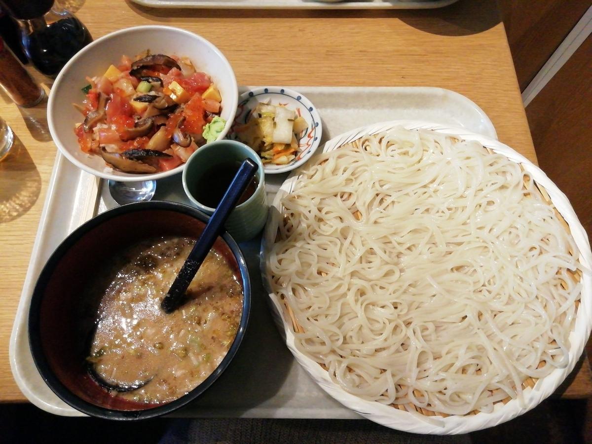 稲庭うどん小(300g)+丼セット 1,200円