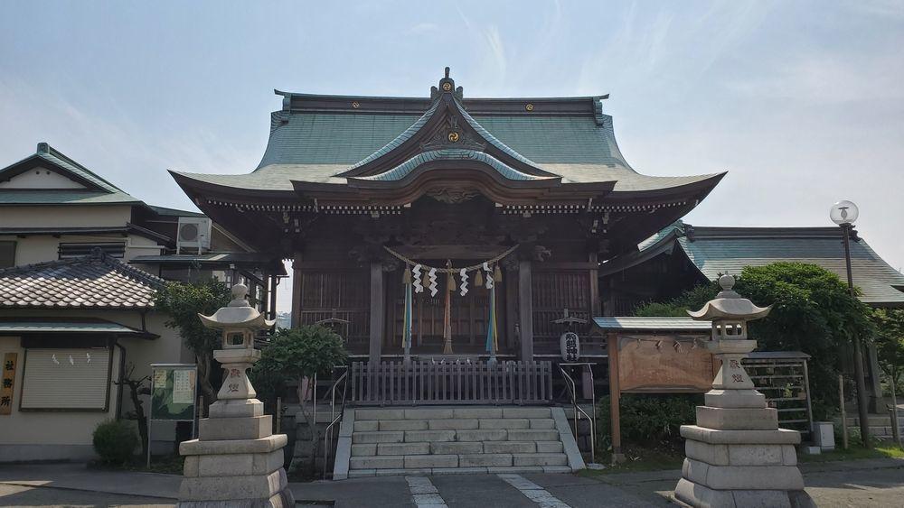 船越神社社殿