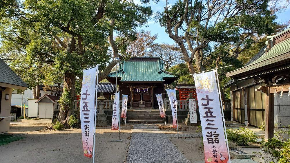 久里浜八幡神社の社殿