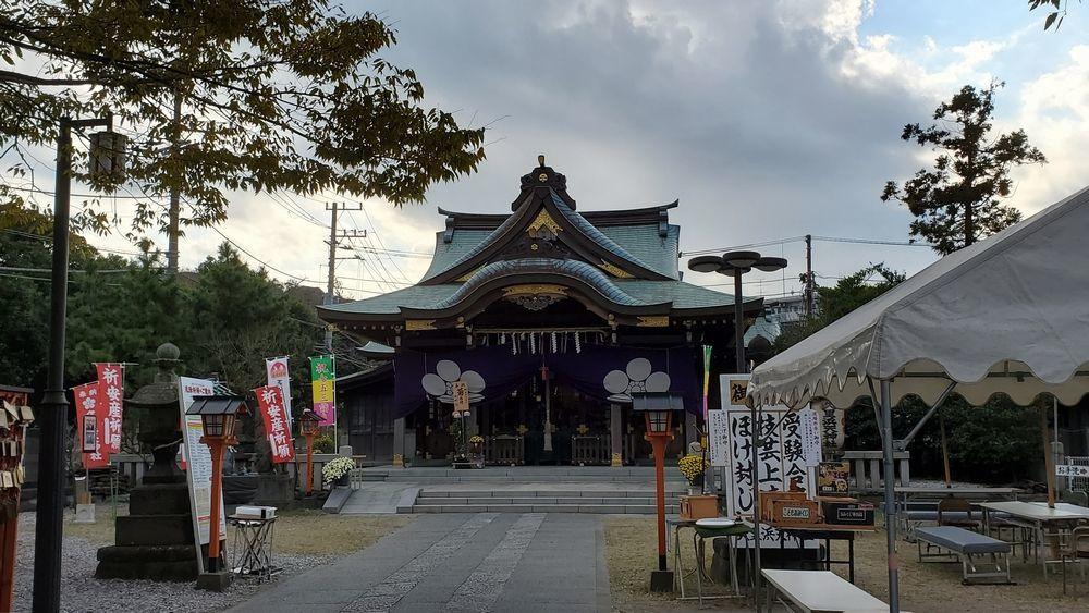 久里浜天神社の社殿