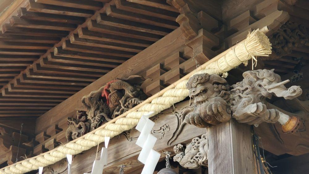 大津諏訪神社の社殿