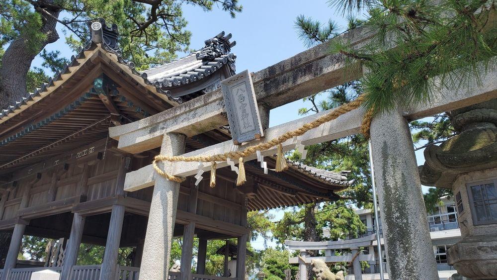 八百富神社遥拝所