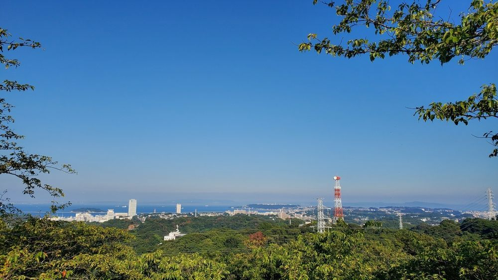 塚山公園・見晴台から見た景色