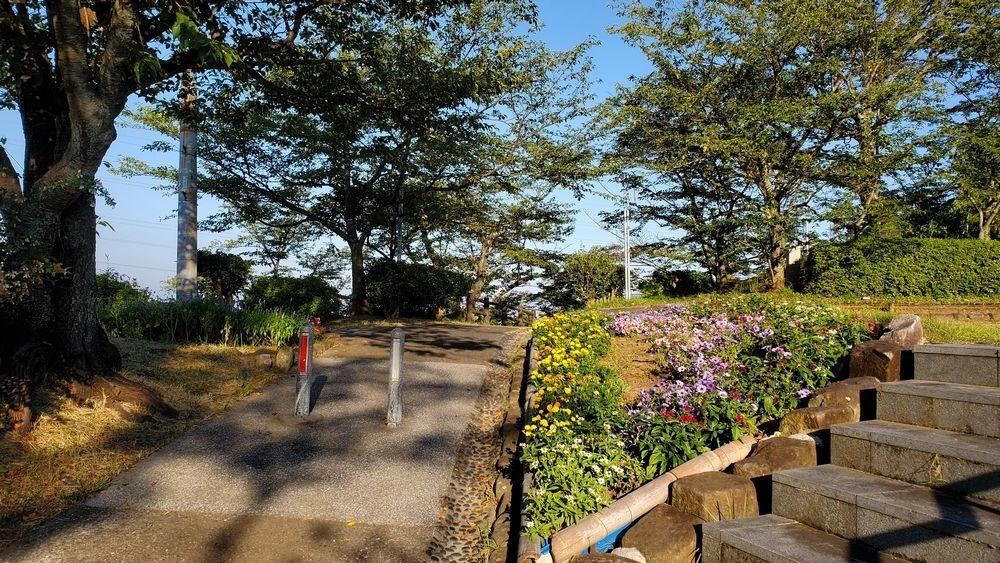 塚山公園・中央広場付近