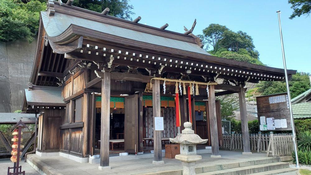 杉山神社・横浜水天宮の拝殿