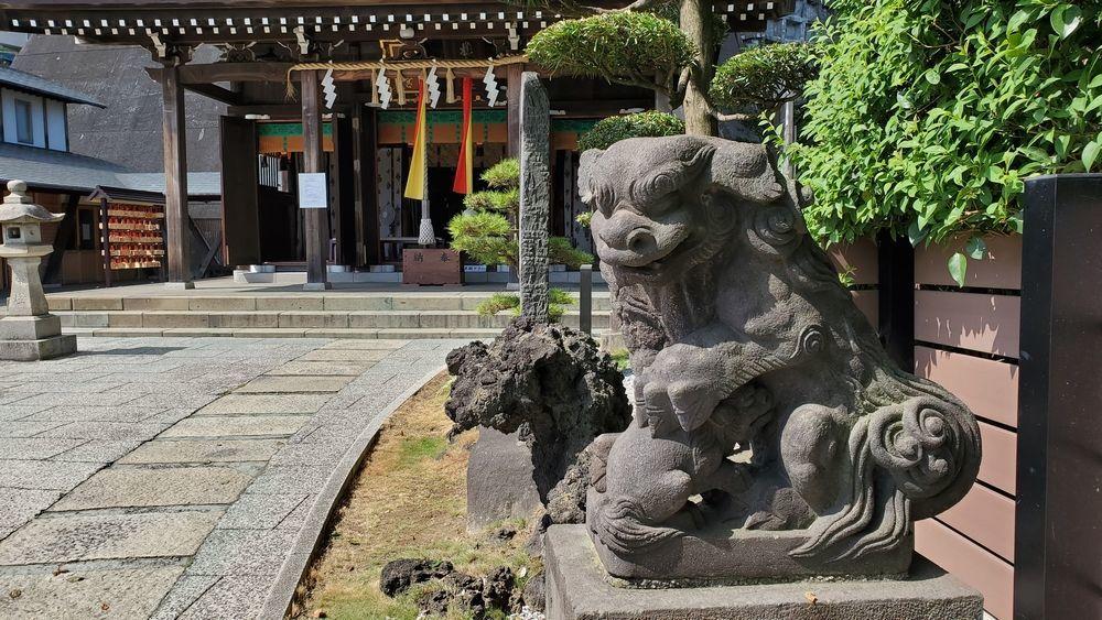 杉山神社・横浜水天宮の狛犬