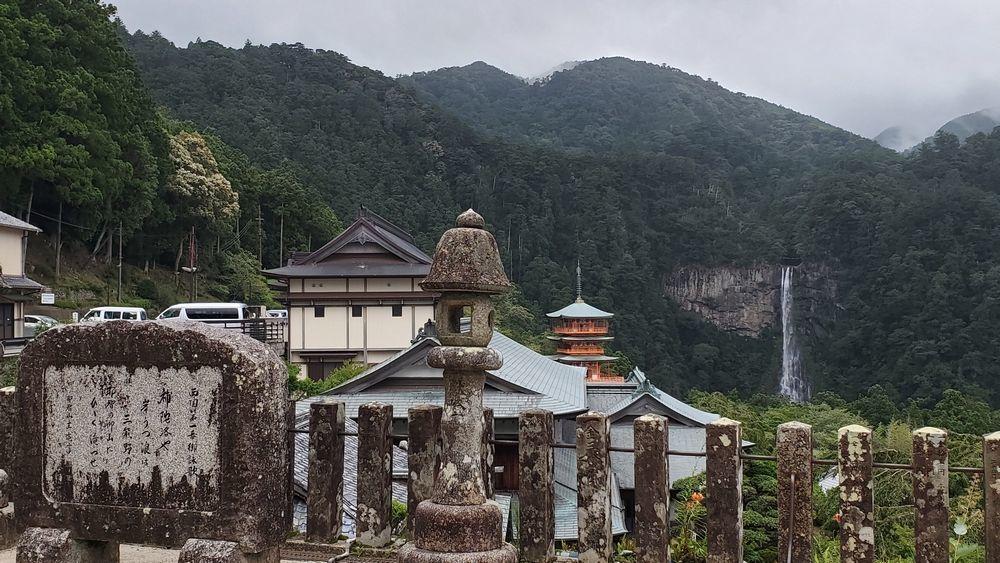 青岸渡寺から見た景色