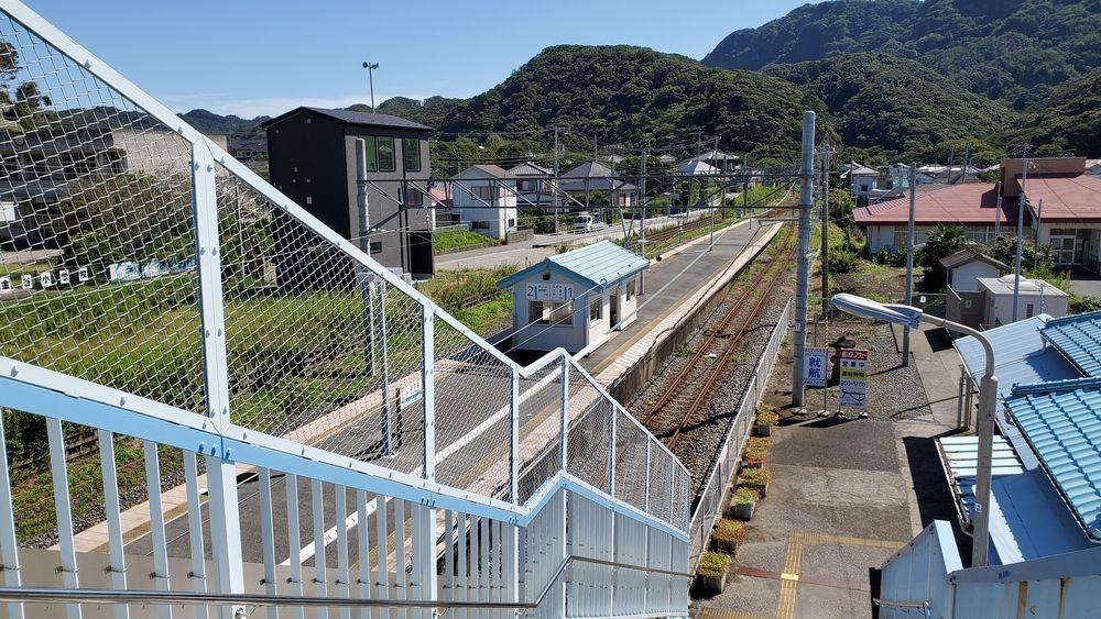 JR浜金谷駅