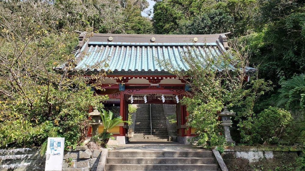 洲崎神社・随身門