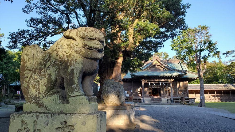 鶴谷八幡宮・狛犬