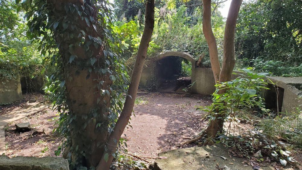 猿島・砲台跡