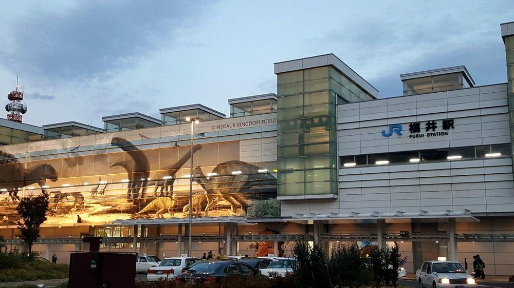 JR福井駅・駅舎