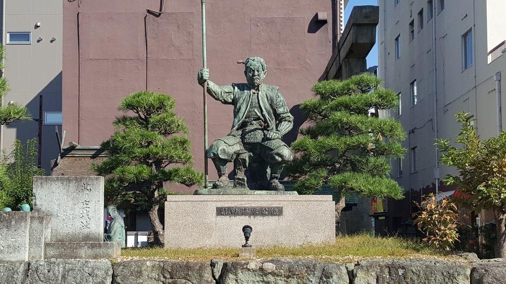 柴田神社・銅像