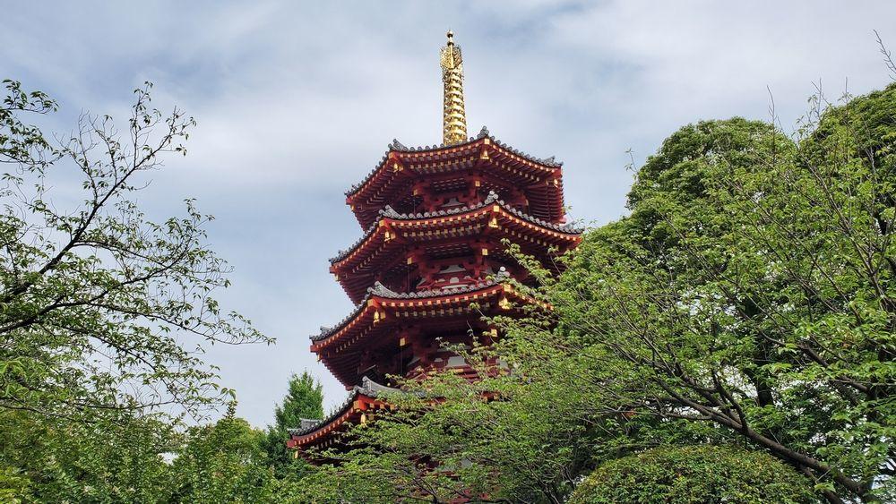 川崎大師 八角五重塔