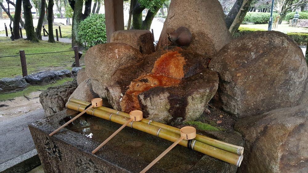 豊国神社 手水舎