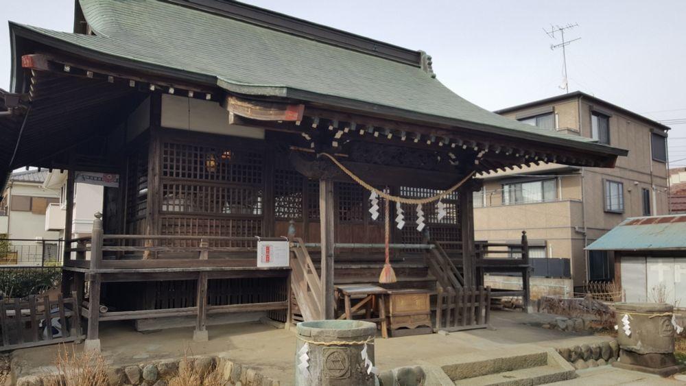 日吉八王子神社 拝殿