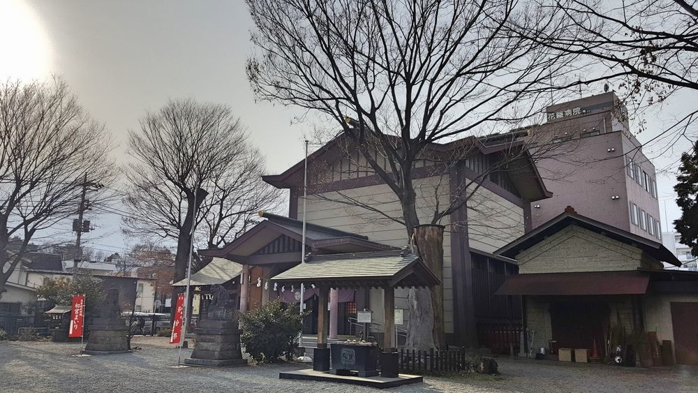 日野八坂神社 境内