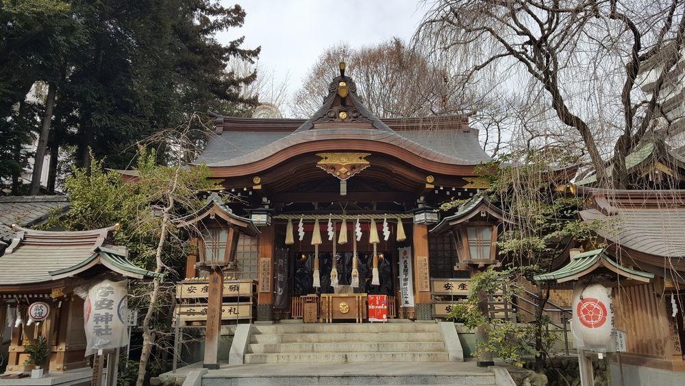 子安神社 拝殿