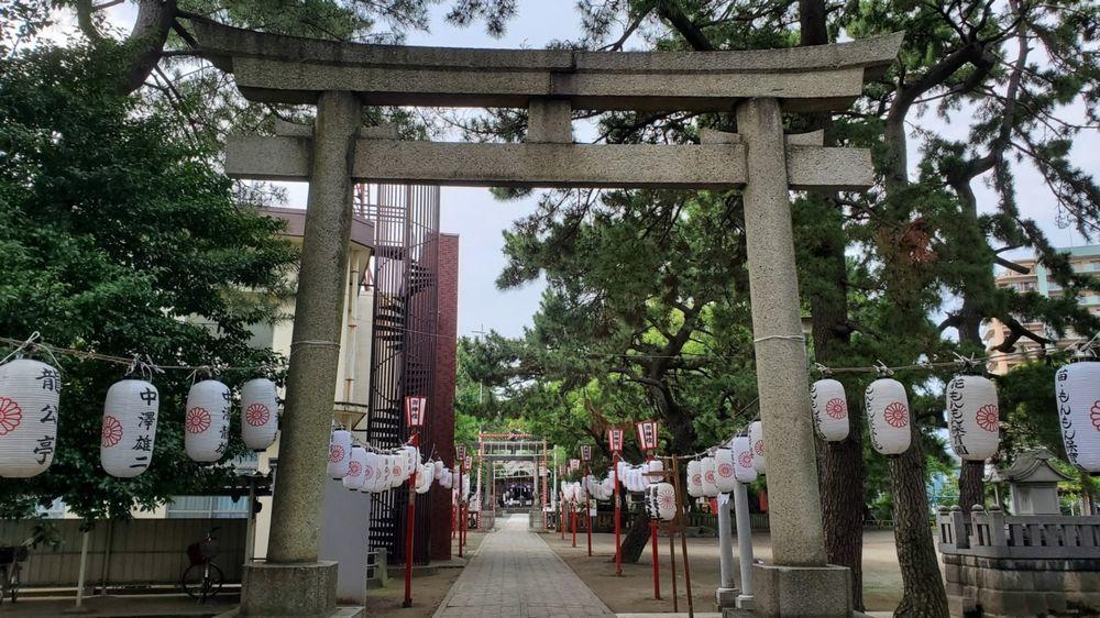 平塚三嶋神社 鳥居