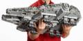 巨大なレゴ・スターウォーズ 75192 ミレニアムファルコン