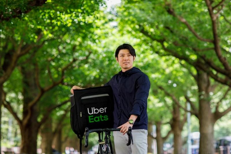 Uber Eats配達パートナー