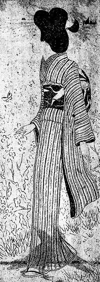 【101冊の挿絵のある本(29)…  小村雪岱が描いた女性の挿絵30枚を年代順に並べてみる】の画像