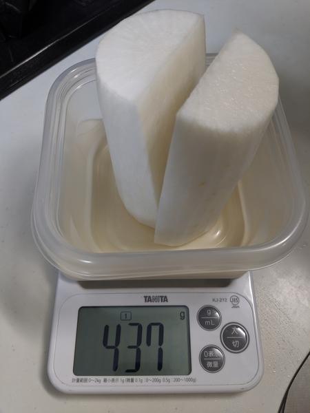 食材の測り方