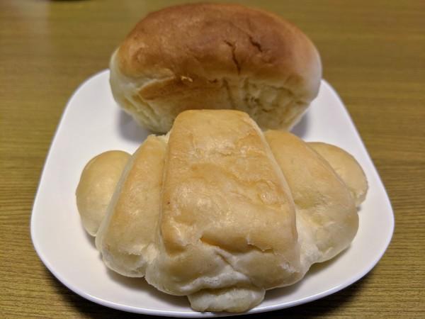 自然解凍した低たんぱくパン
