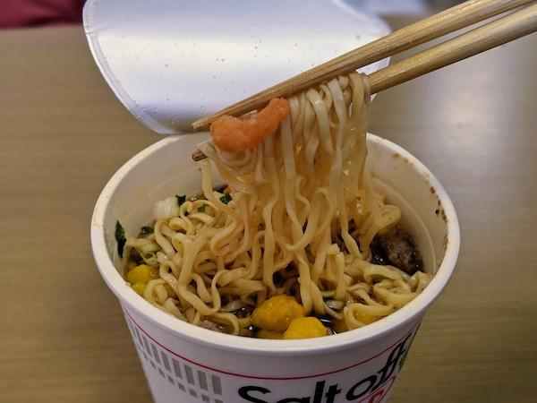 カップヌードル ソルトオフ 実食
