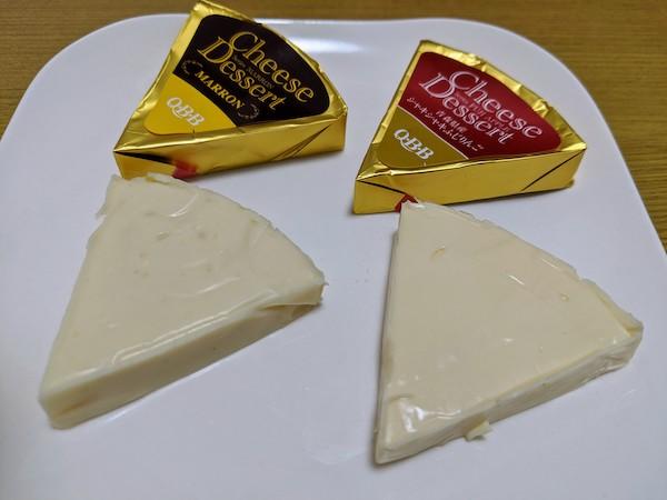 チーズデザート自体はこんな感じです