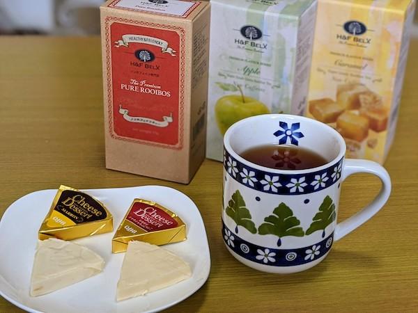 チーズデザートは紅茶との相性も抜群
