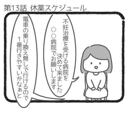 休薬スケジュール1