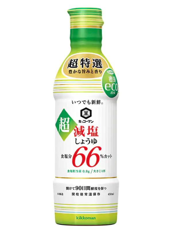 キッコーマン 超減塩しょうゆ 塩分66%カット