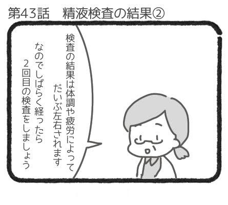 精液検査の結果②1