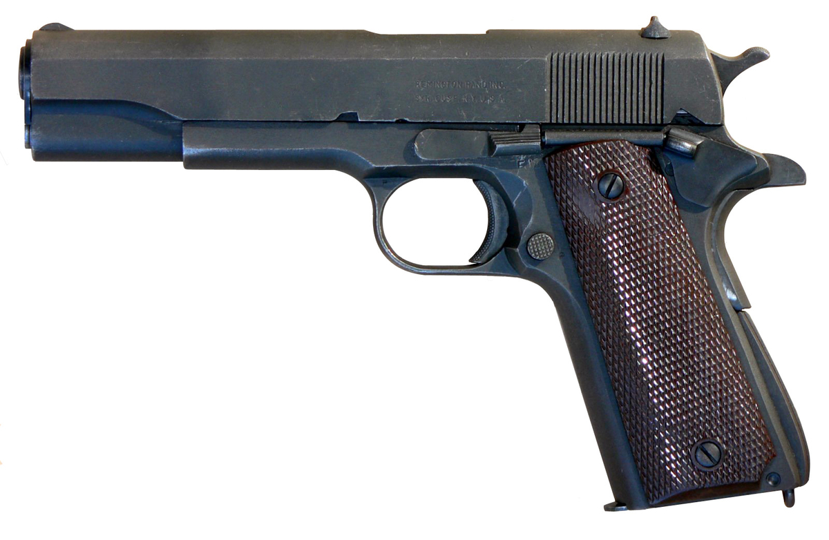 M1911 A1 pistol in .45 ACP by Remington