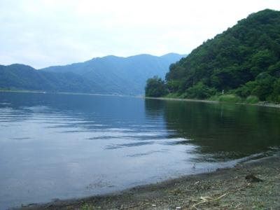 [河口湖:釣り]