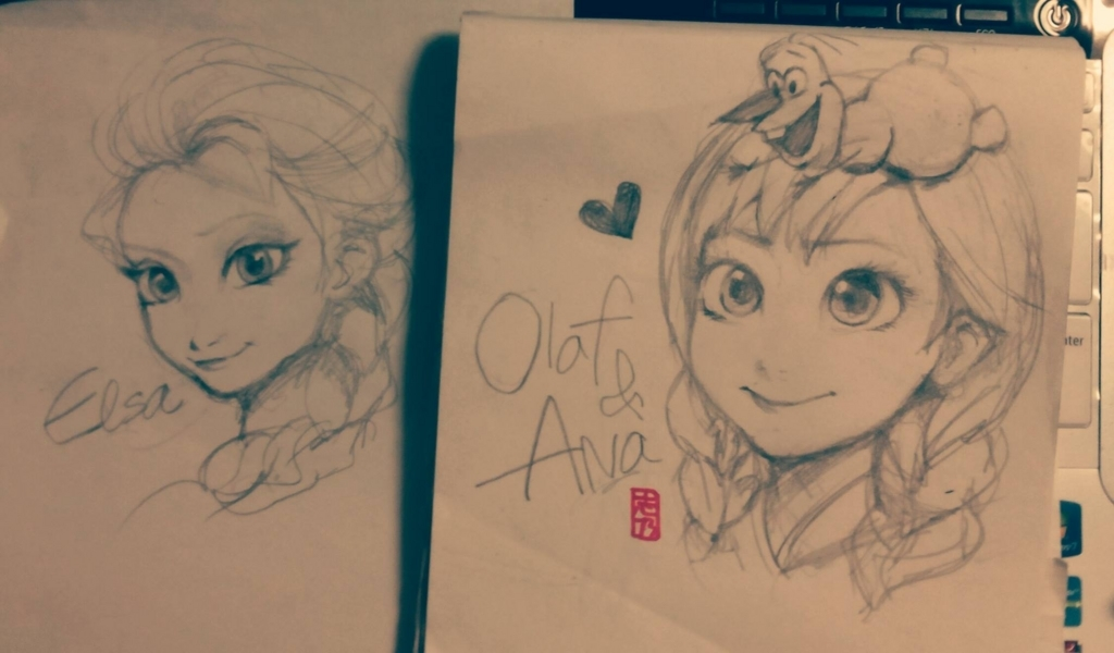 アナと雪の女王イラスト