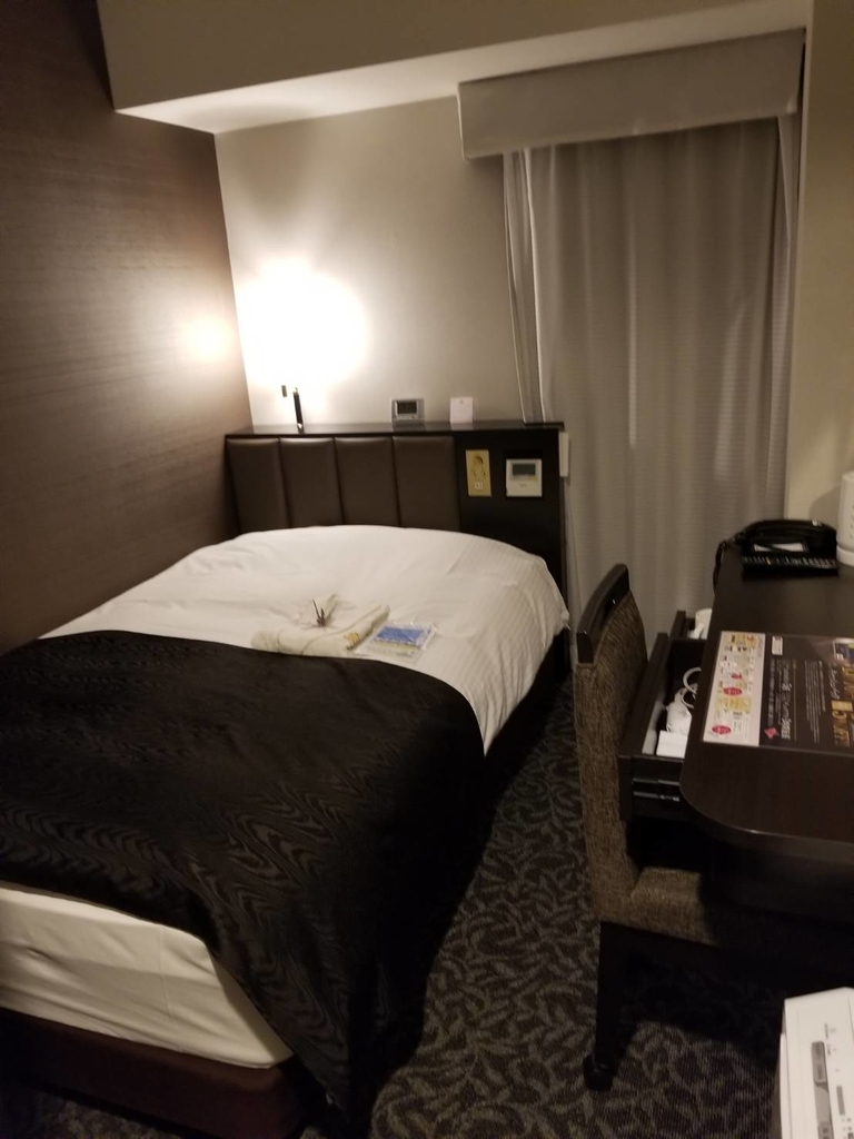 アパホテル 部屋