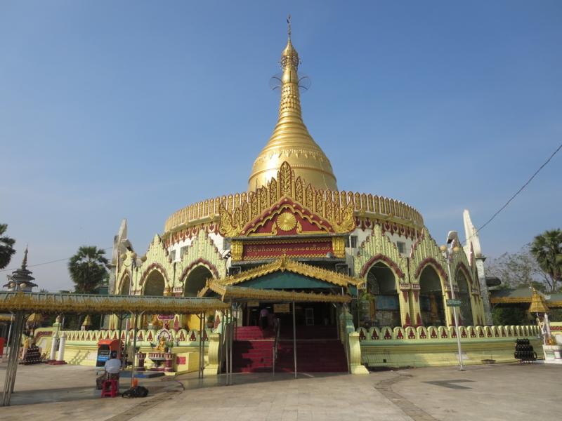 世界平和パゴダ(ミャンマー) -...