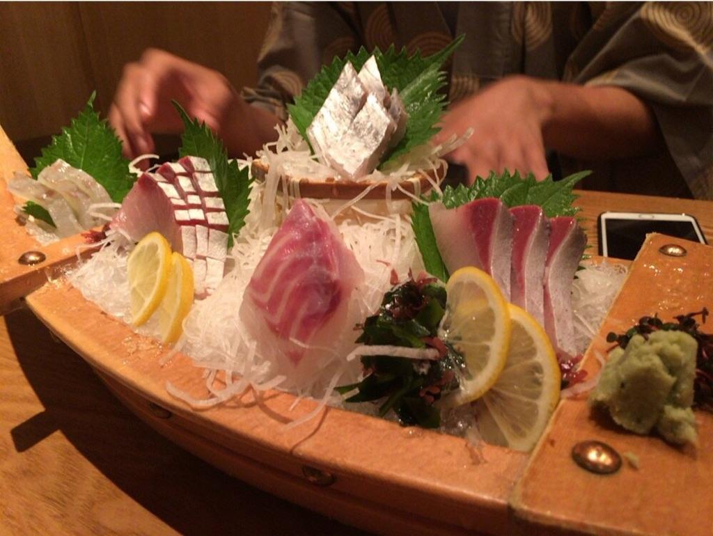 海鮮の盛り合わせ