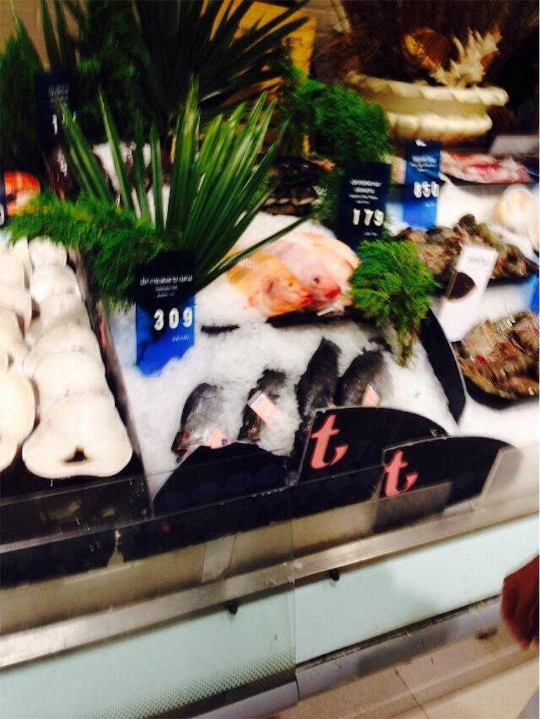 売り物の魚