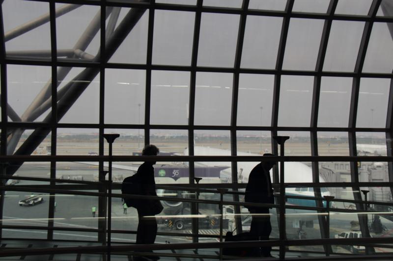 空港内風景