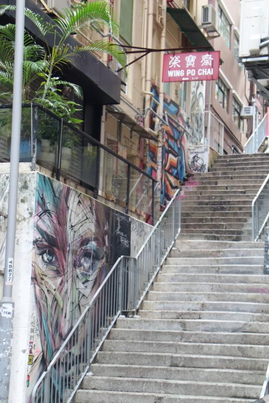街中の壁画