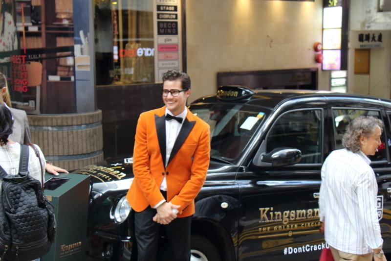 キングスマンの宣伝