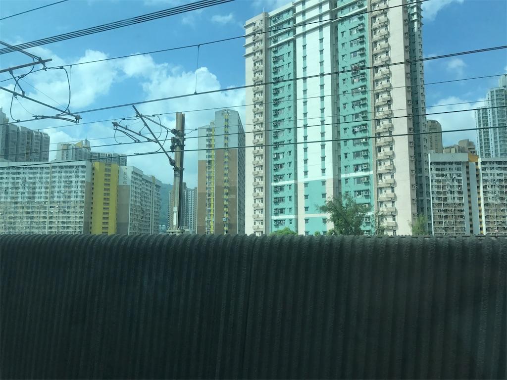 電車からの車窓