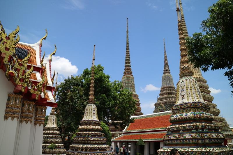 タイのバンコク観光 ワットポー