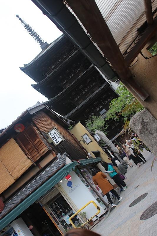 京都二年坂風景