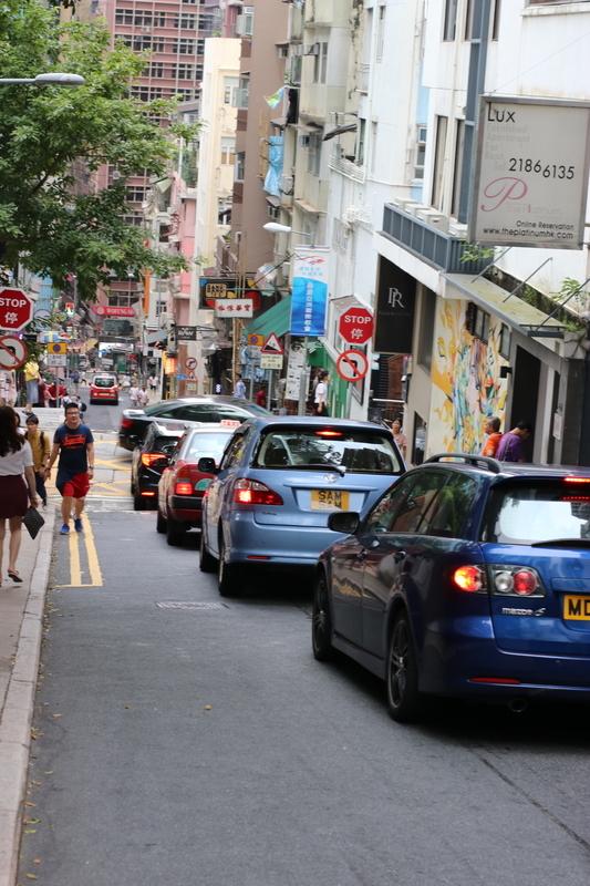 香港街並み